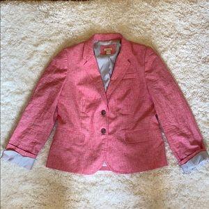 J.Crew linen blazer